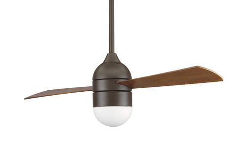 Fanimation FP4520OB-220 Involution Oil-Rubbed Bronze Ceiling Fan with Cherry/Walnut Blades (220V)