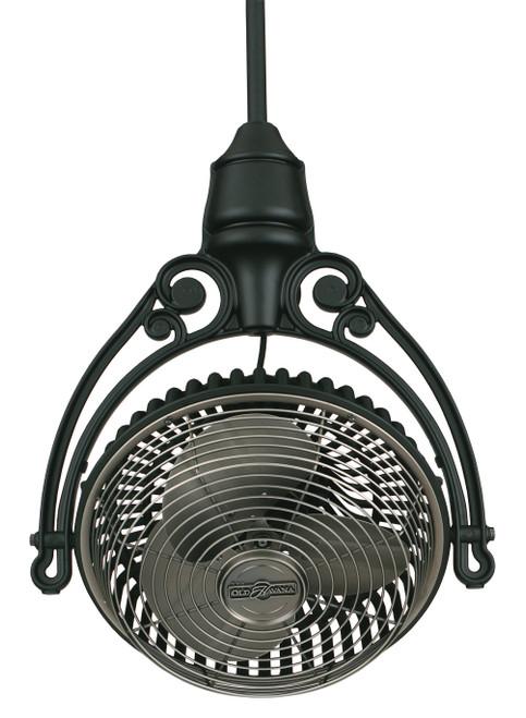 Fanimation FPH81BL1 Old Havana Ceiling Mount - Black At CLW Lighting!