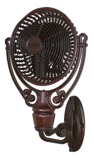 Fanimation FPH61RS Old Havana Wall Mount - Rust At CLW Lighting!