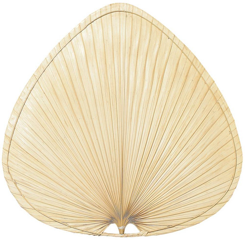 Fanimation PUP1 Punkah Blade Set of 1 - 22 inch - Wide Oval Palm - Natural At CLW Lighting!