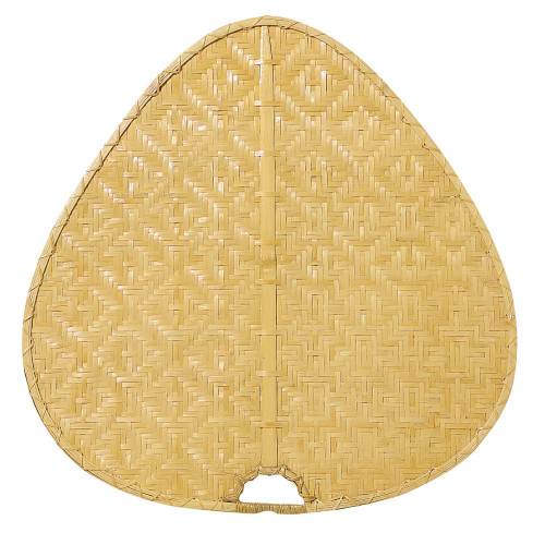 Fanimation PUD1C Punkah Blade Set of 1 - 22 inch - Wide Oval Bamboo - Clear At CLW Lighting!