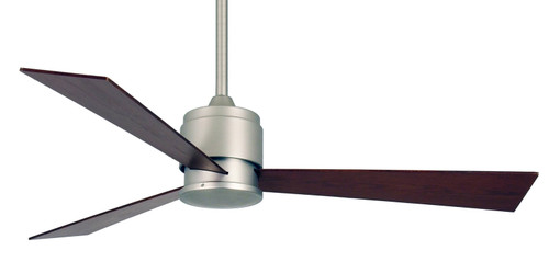 Fanimation FP4620OB-220 Zonix - 54 inch - Oil-Rubbed Bronze with Cherry/Walnut Reversible Blades - 220v At CLW Lighting!