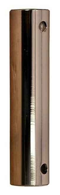 Fanimation DR1-12PN 12-inch Downrod - Polished Nickel At CLW Lighting!