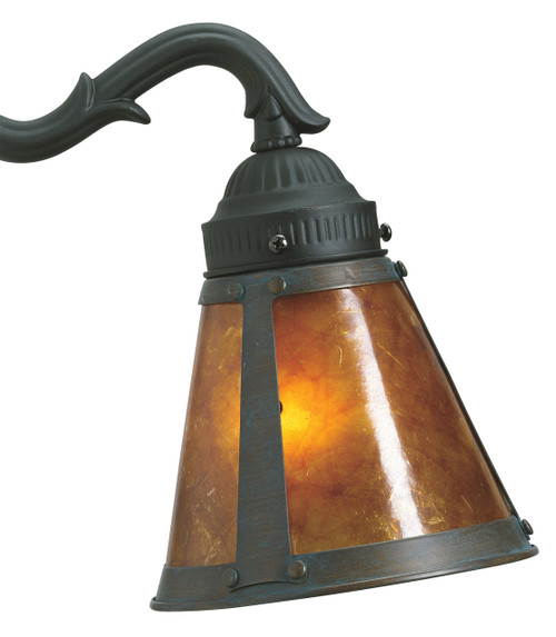 Fanimation G244 2 1/4 Shade Light Kit in Aged Bronze/Amber