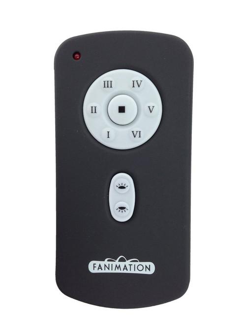 Fanimation TR41 Hand Held DC Motor Transmitter in Black (6-Speed/Rev/UL/DL)