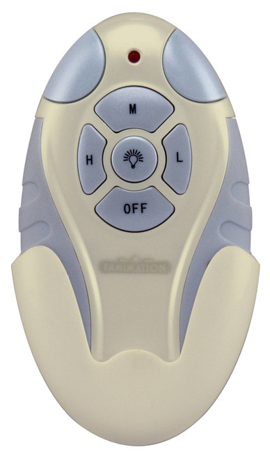 Fanimation CRL4LA Remote Control with Receiver Non-Reversing - Fan Speed and Light - Light Almond At CLW Lighting!