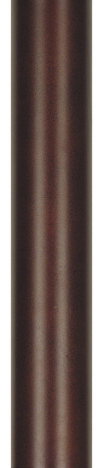 """Fanimation DR1-48MH 48"""" Downrod (1 in.) in Mahogany"""
