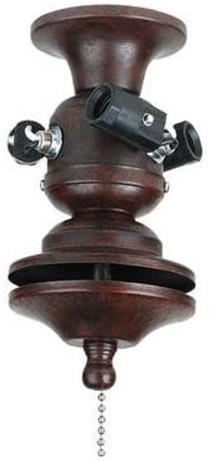 Fanimation F423BN 3-Light Bowl Fitter in Brushed Nickel (220V)