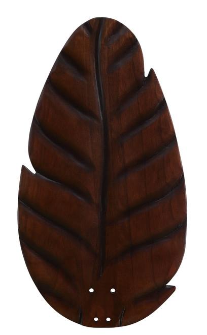 Fanimation B854DC myFanimation Blade Set of Five - 54 inch - Buttonwood/Oval Leaf - Dark Cherry At CLW Lighting!