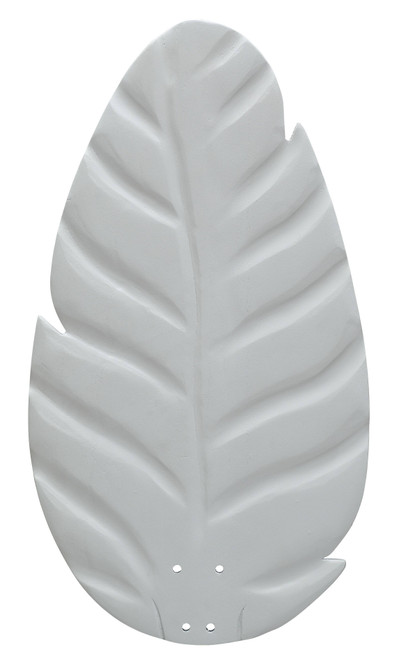 Fanimation B854MW myFanimation Blade Set of Five - 54 inch - Buttonwood/Oval Leaf - Matte White At CLW Lighting!