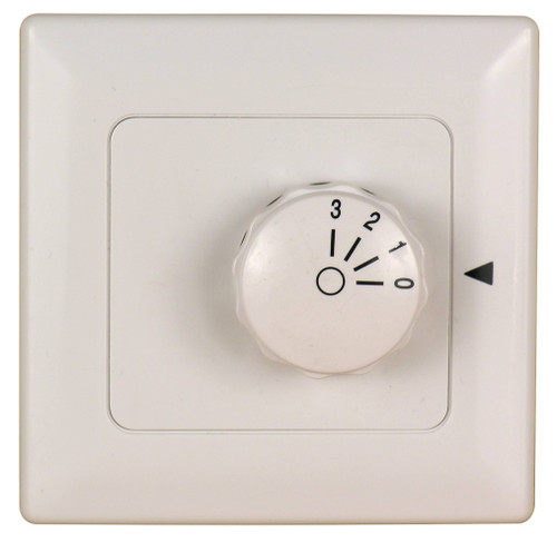 Fanimation C3-220 Three Speed Wall Control Non-Reversing - Fan Speed Only - White At CLW Lighting!