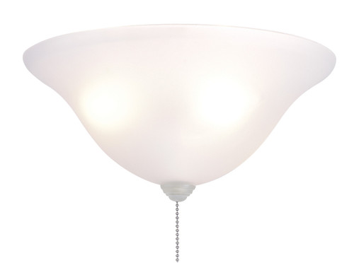"Fanimation LK250 13"" Frosted White Bowl Light Kit"