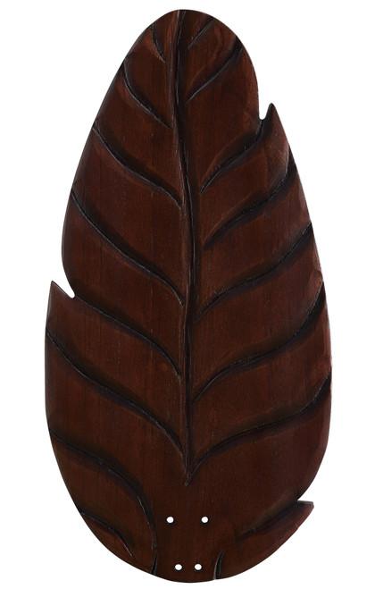 Fanimation B860DC myFanimation Blade Set of Five - 60 inch - Buttonwood/Oval Leaf - Dark Cherry At CLW Lighting!