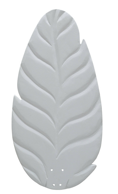 Fanimation B860MW myFanimation Blade Set of Five - 60 inch - Buttonwood/Oval Leaf - Matte White At CLW Lighting!