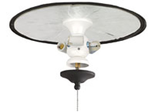 Fanimation FW423MW-220 3-Light Bowl Fitter in Matte White (220V)