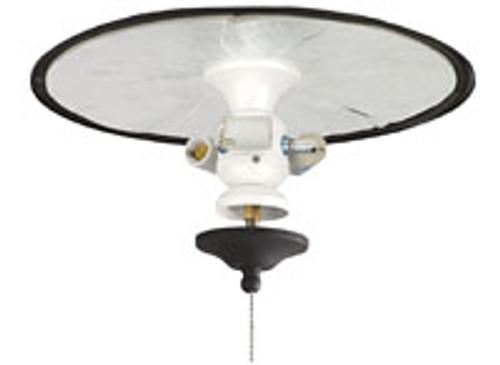 Fanimation FW423SN-220 3-Light Bowl Fitter in Satin Nickel (220V)
