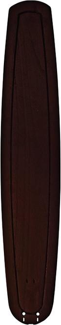 "Fanimation B6801DWA 36"" Large Carved Wood Blade in Dark Walnut (Set of 5)"