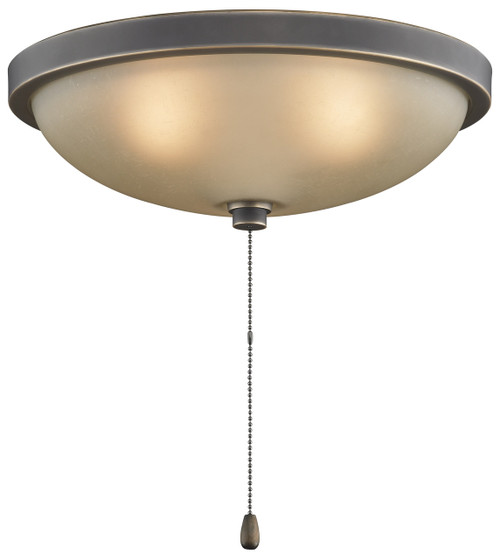 "Fanimation LK114ABA 14"" Low Profile Bowl Light Kit in Bronze Accent"