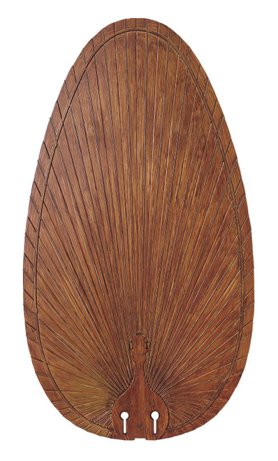 Fanimation BPP4BR Blade Set of Five - 22 inch - Narrow Oval Composite Palm -  Brown At CLW Lighting!