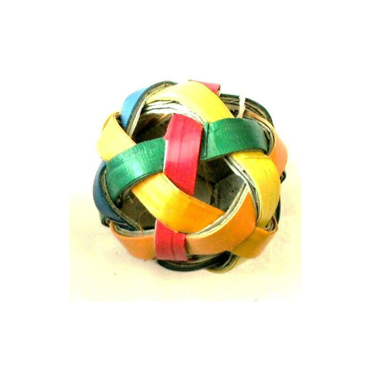 Woven Ball Foot Toy