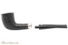 Peterson Cara 268 Sandblast Tobacco Pipe - Fishtail Apart