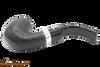 Peterson Cara 221 Sandblast Tobacco Pipe - Fishtail Bottom