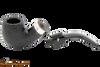 Peterson Cara 221 Sandblast Tobacco Pipe - Fishtail Apart