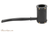 Tsuge Metal Tankard Yoroi Black Tobacco Pipe Right Side
