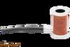Tsuge Metal Tankard Briar Smooth Tobacco Pipe Right Side