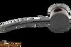 Tsuge Metal Blowfish Black Smooth Tobacco Pipe Right Side