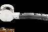 Tsuge Metal Blowfish Silver Smooth Tobacco Pipe Apart