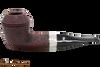 Peterson Sherlock Holmes Baker Street Sandblast Tobacco Pipe PLIP
