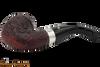 Peterson Sherlock Holmes Baskerville Sandblast Tobacco Pipe PLIP Bottom