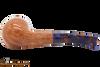 Savinelli Fantasia Natural 626 Tobacco Pipe - Smooth Bottom