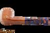 Savinelli Fantasia Natural 409 Tobacco Pipe - Smooth Bottom