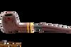 Savinelli Regimental Bordeaux 207 Tobacco Pipe - Smooth Apart