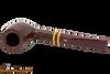 Savinelli Regimental Bordeaux 128 Tobacco Pipe - Smooth Top