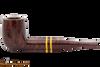 Savinelli Regimental Bordeaux 128 Tobacco Pipe - Smooth