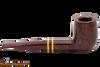 Savinelli Regimental Bordeaux 128 Tobacco Pipe - Smooth Right Side
