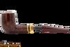 Savinelli Regimental Bordeaux 128 Tobacco Pipe - Smooth Apart
