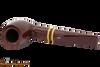 Savinelli Regimental Bordeaux 101 Tobacco Pipe - Smooth Top