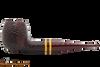 Savinelli Regimental Brown 207 Tobacco Pipe - Rustic