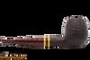 Savinelli Regimental Brown 207 Tobacco Pipe - Rustic Right Side