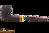 Savinelli Regimental Brown 128 Tobacco Pipe - Rustic Apart