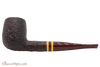 Savinelli Regimental Brown 128 Tobacco Pipe - Rustic