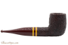 Savinelli Regimental Brown 101 Tobacco Pipe - Rustic Right Side