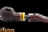Savinelli Regimental Brown 321 Tobacco Pipe - Rustic Apart