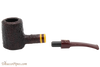 Savinelli Regimental Brown 310 Tobacco Pipe - Rustic Apart