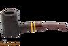 Savinelli Regimental Brown 310 Tobacco Pipe - Rustic