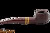 Savinelli Regimental Brown 315 Tobacco Pipe - Rustic Right Side